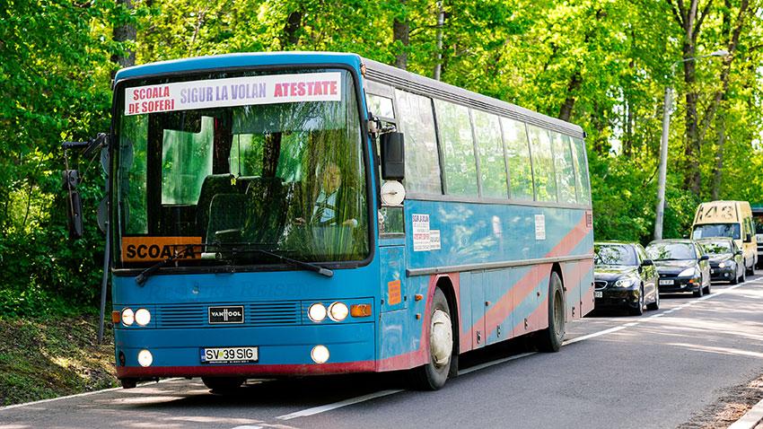 scoala de soferi autobuz autocar botosani